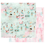 Prima - Surfboard Collection - 12 x 12 Double Sided Paper with Foil Accents - Surf's Up