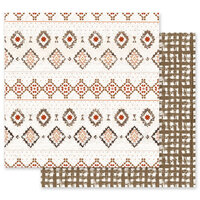 Prima - Golden Desert Collection - 12 x 12 Double Sided Paper - Rugs on Rugs