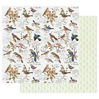 Prima - Nature Lover Collection - 12 x 12 Double Sided Paper - Where the Birds Meet