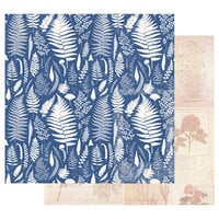 Prima - Nature Lover Collection - 12 x 12 Double Sided Paper - Beautiful Foliage