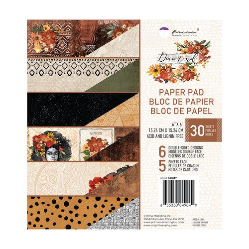 Prima - Diamond Collection - 6 x 6 Paper Pad