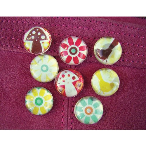 Prima - Pebbles Collection - Self Adhesive Pebbles - Signs Of Spring, CLEARANCE