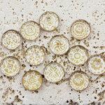 Prima - Pebbles Collection - Self Adhesive Pebbles - Sandy Mumbai, BRAND NEW