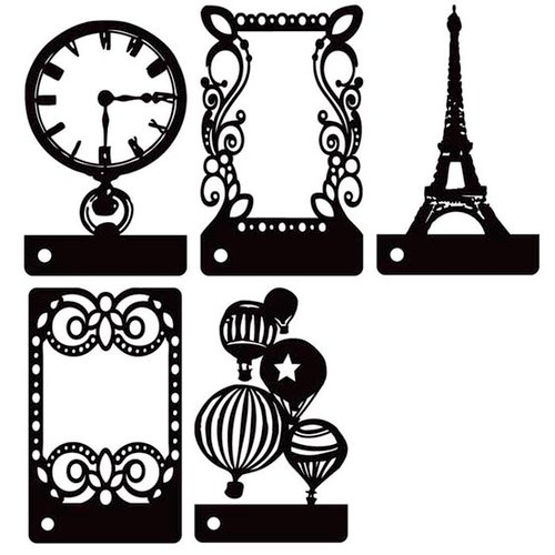 Prima - Stencils Mask Set - Mini Motifs - Mix 3
