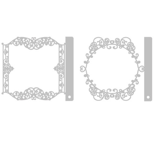 Prima - Stencils Mask Set - 6 x 6 - Mix 3