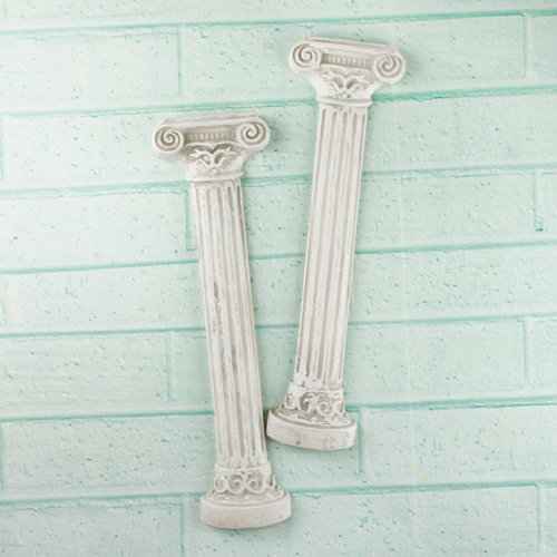 Prima - Architecture Collection - Resin Embellishments - Roman Pillars