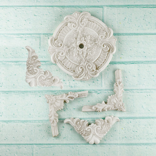 Prima - Architecture Collection - Resin Embellishments - Ceiling Ornaments