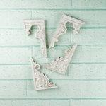 Prima - Architecture Collection - Resin Embellishments - Gable