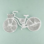 Prima - Shabby Chic Collection - Metal Treasure Embellishments - Vintage Bicycle