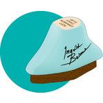 Prima - Ingvild Bolme - Chalk Fluid Edger - Teal Damask