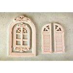 Prima - Resin Collection - Ingvild Bolme - Resin Embellishments - Windows 3