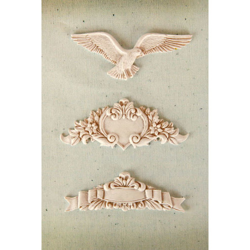 Prima - Resin Collection - Ingvild Bolme - Resin Embellishments - Dell' Arte