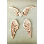 Prima - Resin Collection - Ingvild Bolme - Resin Embellishments - Angel Wings