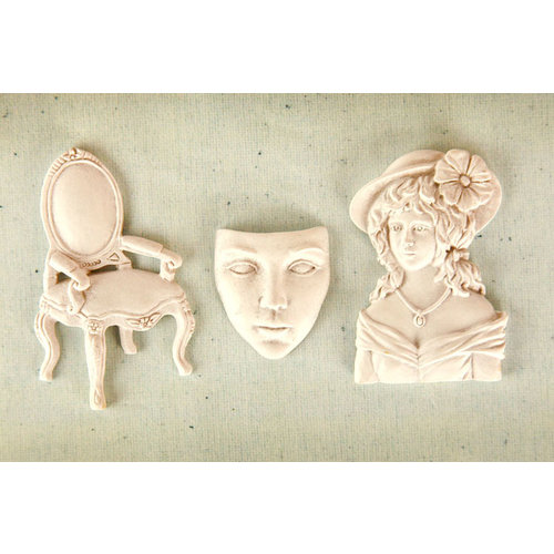 Prima - Resin Collection - Ingvild Bolme - Resin Embellishments - Allure