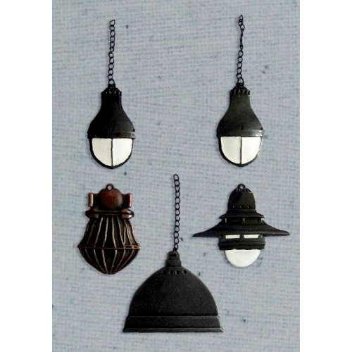 Prima - Junk Yard Findings Collection - Ingvild Bolme - Trinkets - Metal Embellishments - Industrial Lamps