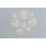 Prima - Junk Yard Findings Collection - Ingvild Bolme - Trinkets - Metal Embellishments - Clock Faces