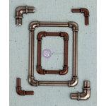 Prima - Junk Yard Findings Collection - Ingvild Bolme -Trinkets - Metal Embellishments - Water Pipe Frames