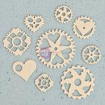 Prima - Junk Yard Findings Collection - Ingvild Bolme -Trinkets - Metal Embellishments - Heart Gear