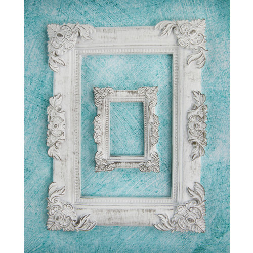 Prima - Shabby Chic Treasures Collection - Ingvild Bolme - Resin Embellishments - Baroque Frame