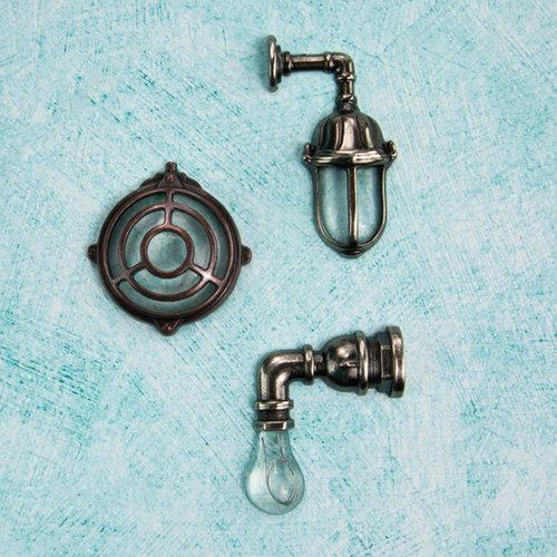 Prima - Junkyard Findings Collection - Ingvild Bolme - Metal Embellishments - Wall Lamps