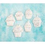 Prima - Shabby Chic Treasures - Ingvild Bolme - Resin Embellishments - Cupcakes