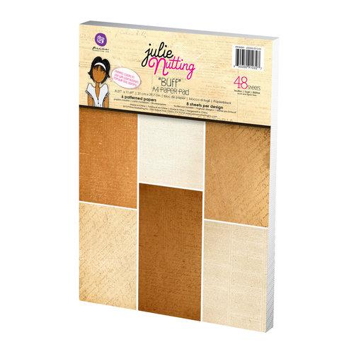 Prima - Julie Nutting - Mixed Media Doll - Skin Tone A4 Paper Pad - Buff