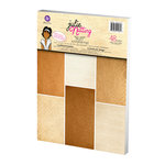 Prima - Julie Nutting - Mixed Media Doll - Skin Tone A4 Paper Pad - Buff