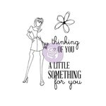 Prima - Julie Nutting - Cling Mounted Stamp Kit - Mixed Media Doll - For You