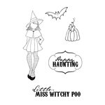 Prima - Julie Nutting - Cling Mounted Stamps - Witchy Poo