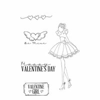 Prima - Julie Nutting - Cling Mounted Stamps - Love Day