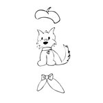 Prima - Julie Nutting - Cling Mounted Stamps - Dog Treats