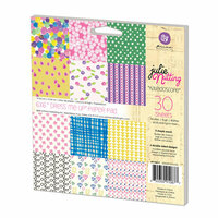 Prima - Julie Nutting - 6 x 6 Paper Pad - Dress Me Up - Two