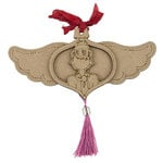 Prima - Julie Nutting - Christmas - Etched Wood Ornament - Coco