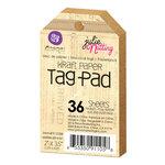 Prima - Julie Nutting - Kraft Tag Pad - 2 x 3.5