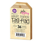Prima - Julie Nutting - Kraft Tag Pad - 2.5 x 4.25
