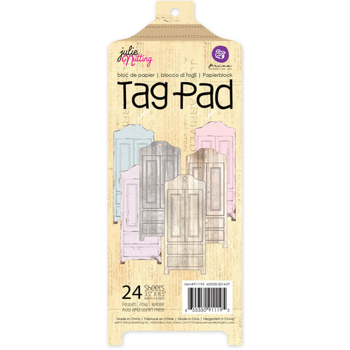 Prima - Julie Nutting - Armoire Tag Pad
