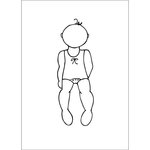 Prima - Julie Nutting - Cling Mounted Stamps - Baby