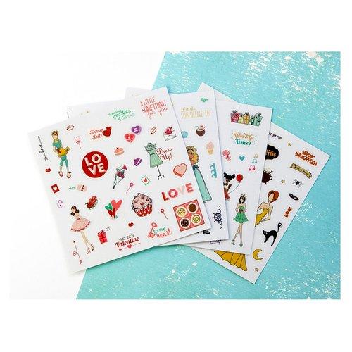 Prima - Julie Nutting - Clear Matte Stickers