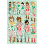 Prima - Julie Nutting - Cardstock Stickers - March