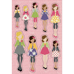 Prima - Julie Nutting - Cardstock Stickers - April