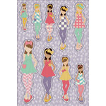 Prima - Julie Nutting - Cardstock Stickers - June