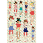 Prima - Julie Nutting - Cardstock Stickers - August
