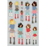 Prima - Julie Nutting - Cardstock Stickers - September