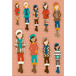 Prima - Julie Nutting - Cardstock Stickers - November