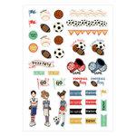 Prima - Julie Nutting - Planner - Cardstock Stickers - Sport