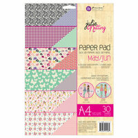 Prima - Julie Nutting - A4 Paper Pad - May and June