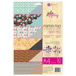 Prima - Julie Nutting - A4 Paper Pad - September and October