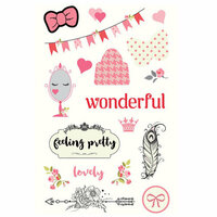 Prima - Julie Nutting - Chipboard Stickers