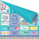 Prima - Mermaid Kisses Collection - 12 x 12 Double Sided Paper - Mermaids Forever
