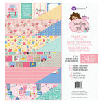 Prima - Julie Nutting - Traveling Girl Collection - 12 x 12 Paper Pad with Foil Accents